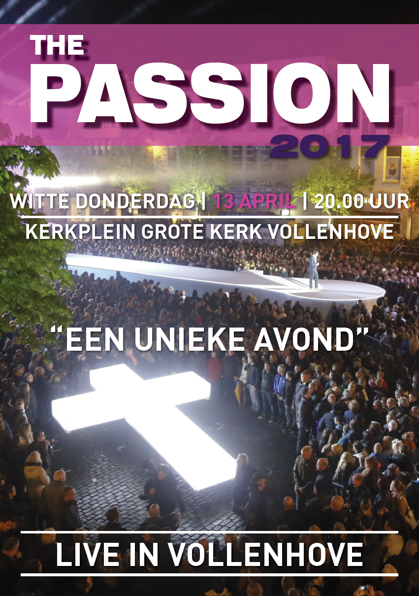 Dvd The Passion Vollenhove 2017