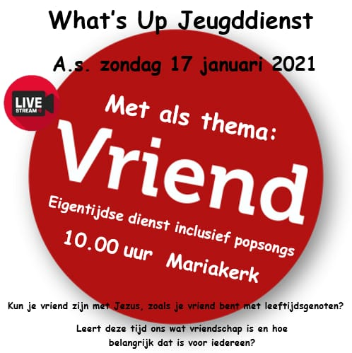 poster what's up jeugddienst